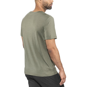 Bergans Oslo Wool Camiseta Hombre, green mud